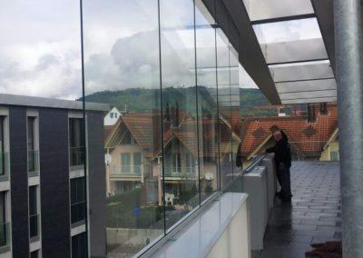 Balkonschiebewände, AVESO Euroform EV