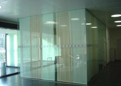 Besprechungskabine aus Glas