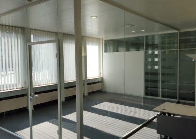 Ganzglassitzungszimmer aus ESG System Deubl Alpha