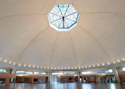 Glaskuppel Markthalle